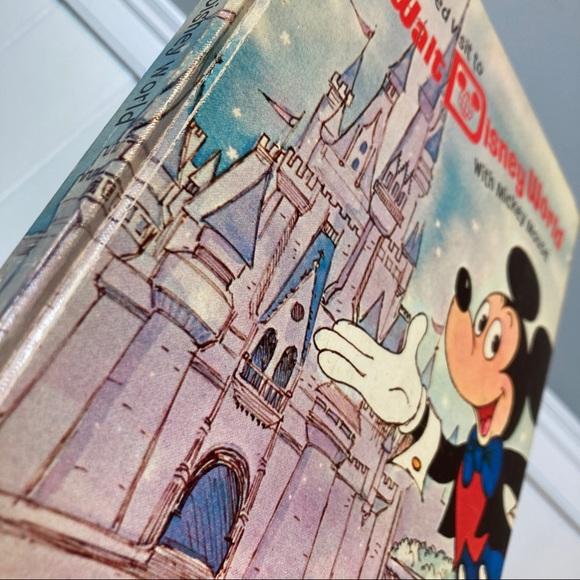 vintage walt disney world pop up book